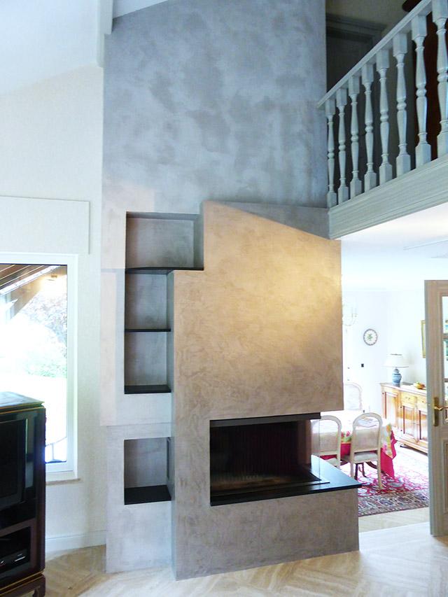peintures décoratives, tous types d'enduits, effet béton, stucco, métal